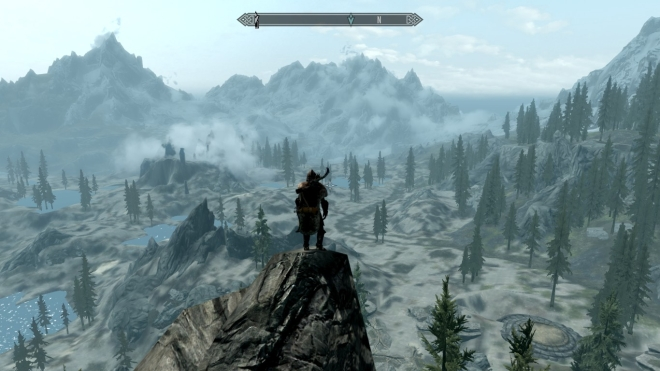 Skyrim Travelogue: A Little Rain Never Hurt No One – Zed Games